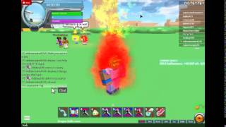 dbz the first clash on roblox