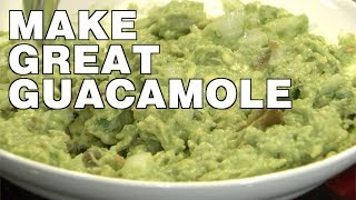 Patricia Lopez's Awesome Spicy Guacamole