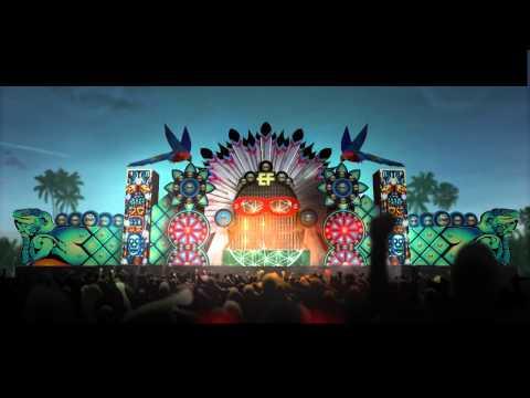 Electric Festival Aruba - stage render