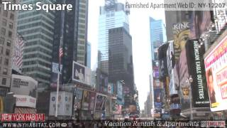 Video Tour of 1-Bedroom Furnished Apartment in Midtown West, Manhattan