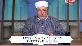 """شاهد.. خالد الجندي ينعي حمدي أحمد: """"رجل وطني من الطراز الأول"""""""