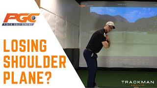 Golf Swing - Do you lose shoulder plane?
