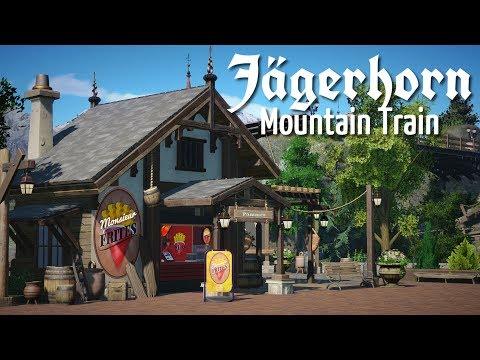 Planet Coaster - Jägerhorn (Part 5) - Pathway Restaurant