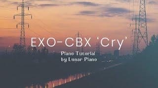 Gambar cover EXO-CBX _ Cry Piano Tutorial 피아노 튜토리얼 by Lunar Piano