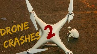 Funny Drone Crashes Compilation - 2015