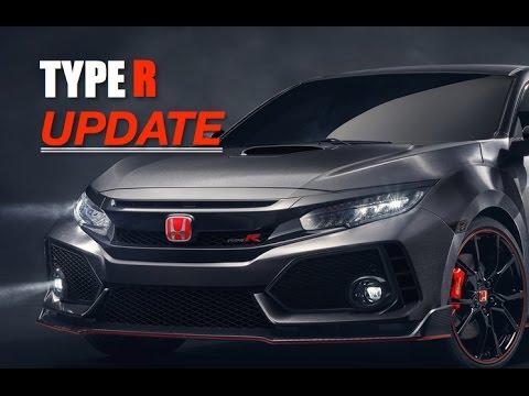 2018 Honda Civic Type R Update - Inside Lane - YouTube