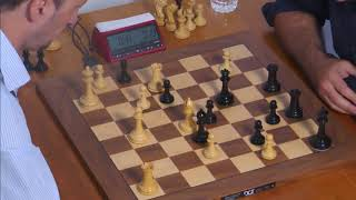 Topalov  illegally promotes to a pawn and What Kasparov did was not good.