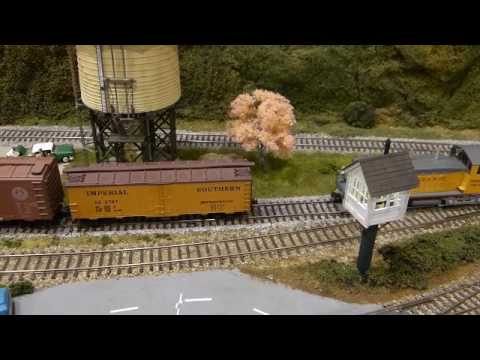 Willow Creek Railroad - Operations: Through Freights