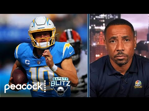 NFL Week 5 takeaways: Cardinals, Chargers prove their mettle | Safety Blitz | NBC Sports