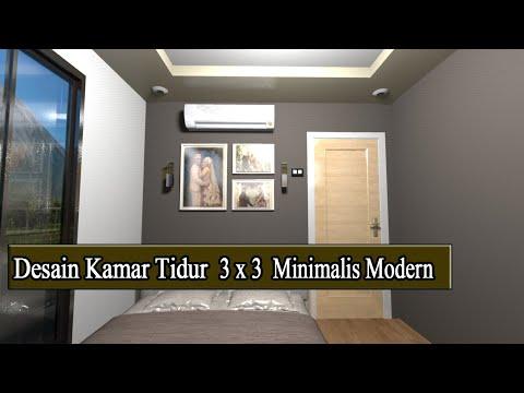 Makeover Kamar Tidur Sederhana  make over kamar tidur suami istri 3x3 minimalis modern 2019
