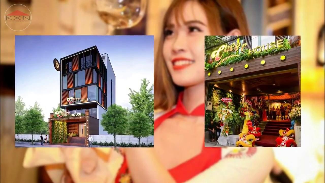 Thiết kế thi công nhà hàng hầm rượu Cheer House