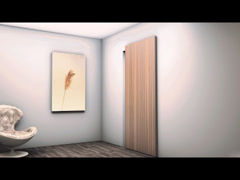 HIDDEN Скрытая раздвижная система для межкомнатных дверей