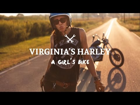 Virginia's Harley: a Girl's Bike