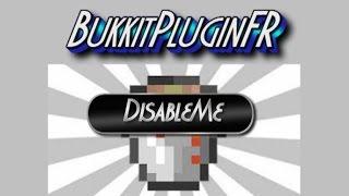 DisableMe | activer/desactiver vos plugin sans les supprimer