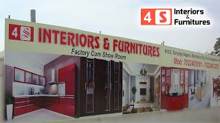 4s interiors modular kitchen furniture office commercial Bengaluru at Electronic city