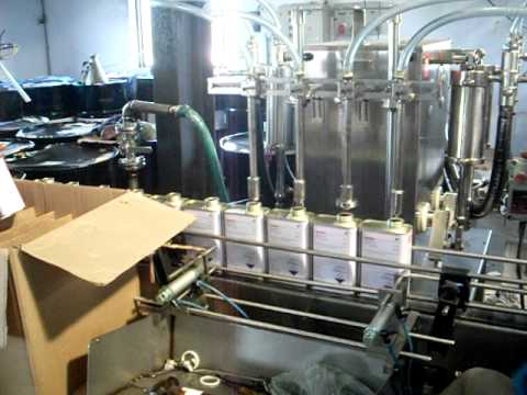Assembly Line for Machete/Agrochemicals/Pesticides Production 1st part