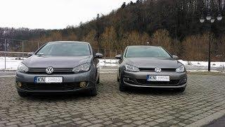 Volkswagen Golf VII & Volkswagen Golf VI 1.4 TSI 122 BHP engine comparison   belt & chain timing
