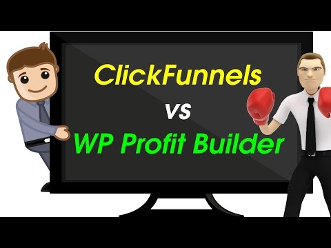 Clickfunnels vs WP Profit Builder | Can Clickfunnels beat the OptimizePress killer? | Honest Review