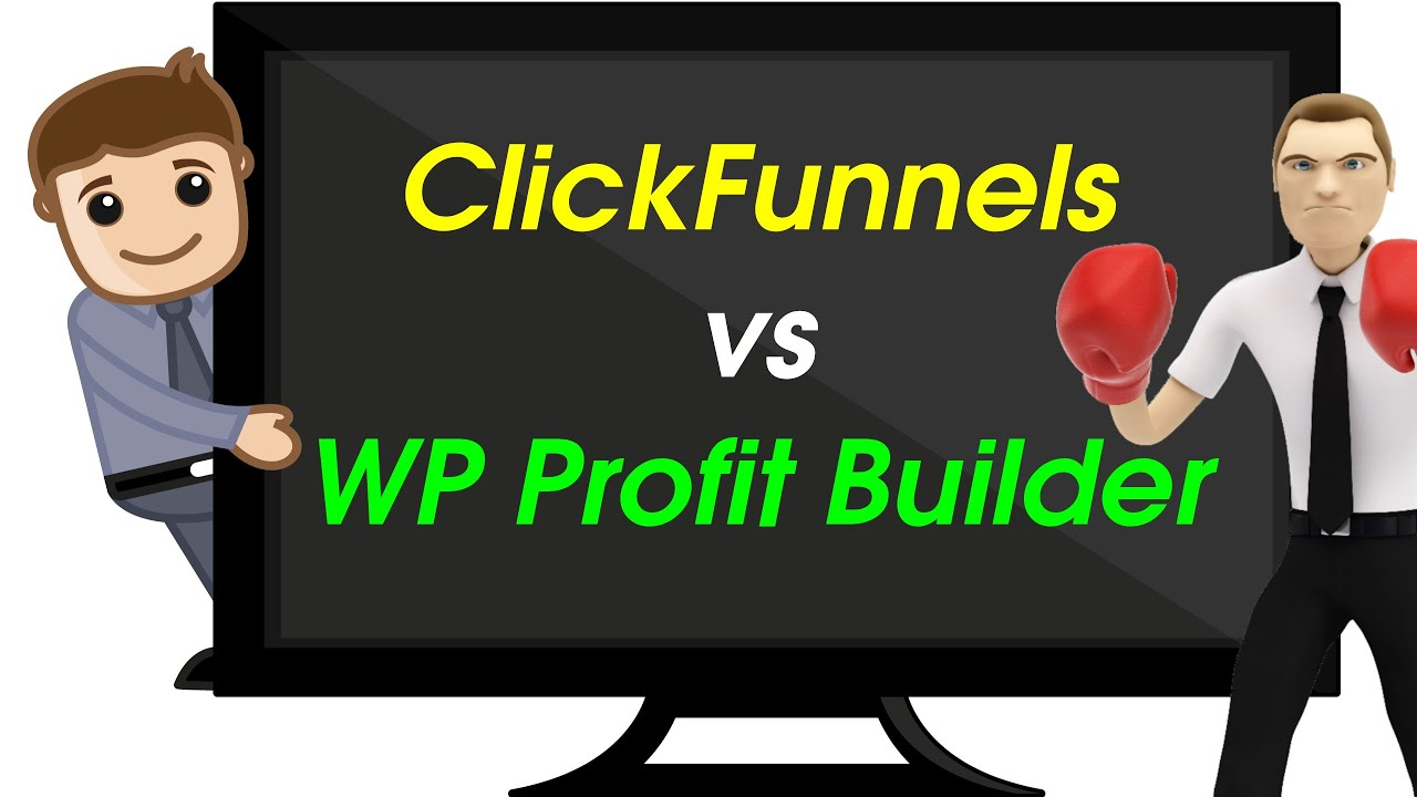 Clickfunnels vs WP Profit Builder | Can Clickfunnels beat the OptimizePress killer? | Honest Review