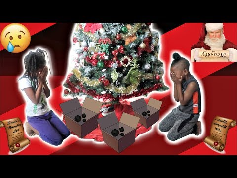 """""""NO GIFTS FOR CHRISTMAS PRANK"""" ON KIDS (THEY WERE SO SAD) 😢 