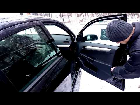 Opel Astra H Tutorial: Locking Doors Without Battery