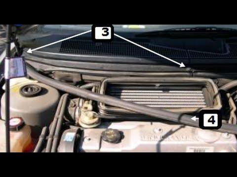 Как заменить воздушный фильтр кабины на Ford Mondeo