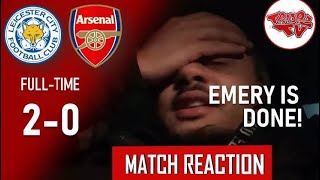 Leicester City 2-0 Arsenal | Match Reaction | Dun Out Ere