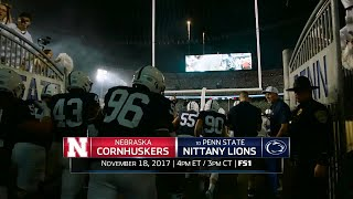 Week 12 Football Preview: Nebraska at Penn State