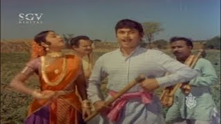 ನನ್ನ ಗಂಡಸ್ಥನಕ್ಕೆ ಸವಾಲ್ | Dr Rajkumar, Manjula, Vajramuni | Best Scene of Sampathige Saval