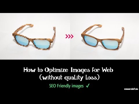 How to Optimize Images for Web using Photoshop (without quality loss)