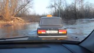Дорога в Вересники в Кирове, разлив, май 2014(, 2014-05-02T09:57:48.000Z)