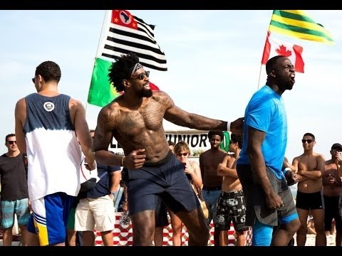 USA Basketball play Beach Volleyball in Rio (Kevin Durant, Jimmy Butler, DeAndre Jordan & more)