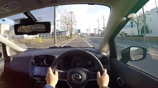 【Test Drive】2016/2017 New NISSAN NOTE MEDALIST e-POWER - POV City Drive