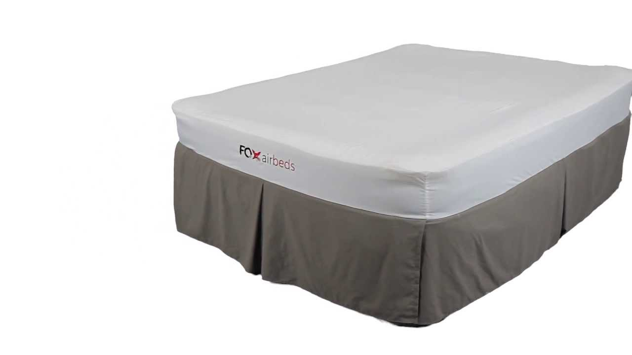 foam top air mattress Fox Airbeds' Best Air Mattress with Memory Foam or Pillow Top  foam top air mattress