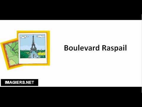 Streets of Paris # Boulevard Raspail