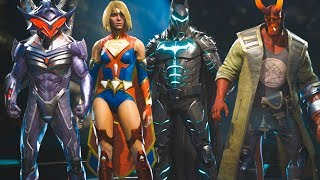 Injustice 2 Legendary Edition - All NEW Epic Gear Sets