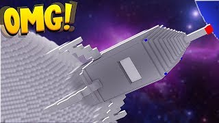MAKING A SPACE STATION! - Minecraft Galacticraft Modded Let's Play #7