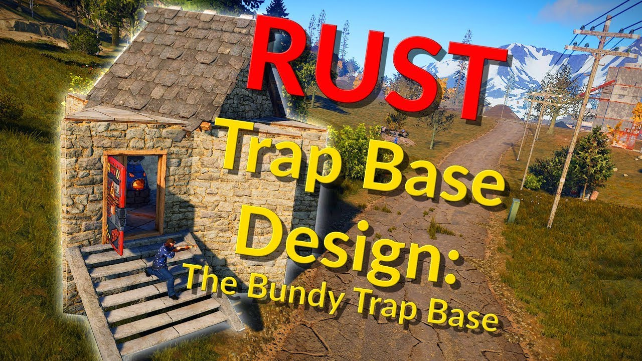 Bundy Trap Base Design (2018) – Trap Base Designs