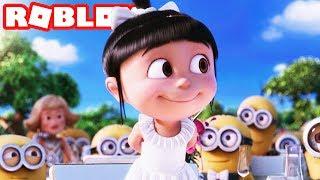 DESPICABLE ME 3 IL FILM in ROBLOX (Il film più carino di sempre)