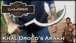 Aluminum Casting Khal Drogo's ARAKH weapon - Game Of Thrones