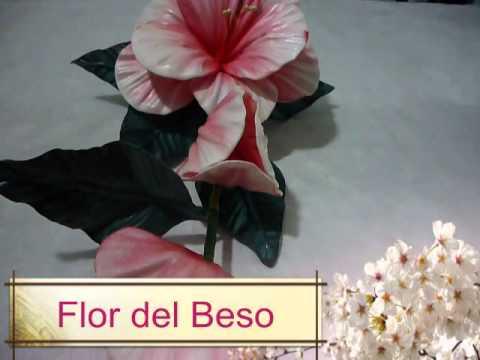 Curso de flores de goma eva 2 youtube - Flores sencillas de goma eva ...
