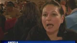 VOLTERRA - Le Cene Galeotte in Carcere riprese dalla TV del BRASILE