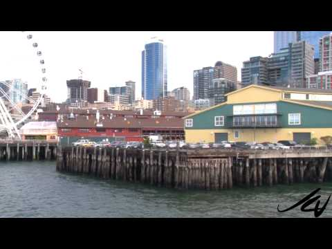 Elliot Bay Harbor Tour on Spirit of Seattle, Argosy - YouTube
