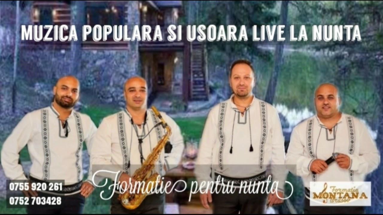 Muzica Populara Ca La Nunta Colaj 2 Ore Cu Formatia Montana