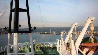 徳山港(山口県)から竹田津港(大分県)へ