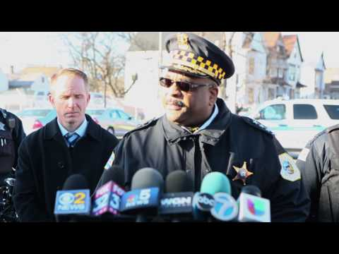 Police Superintendent on afternoon's violence