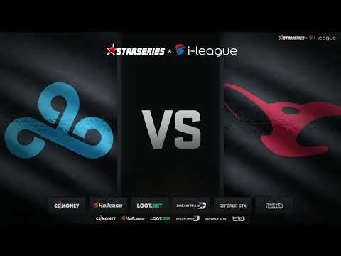 Cloud9 vs mousesports at StarSeries i-League Season 4 - map 1
