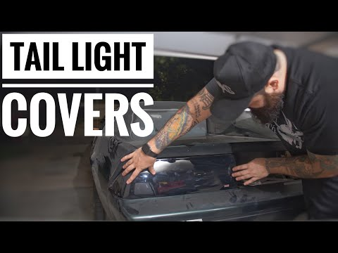 Third Gen Camaro Project | Wade Tail Light Covers | Episode 10