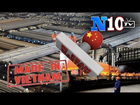 """Mỹ- EU """"Đánh"""" Nghành Sắt, Thép"""" Việt Nam Vì Là Thép TQ Trá Hình - Mỹ Bắt Thêm Điệp Viên TQ Ăn Cắp CN"""