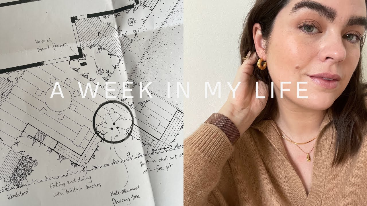 A Week In My Life: Our Garden Plans & High Motivation | AD | The Anna Edit